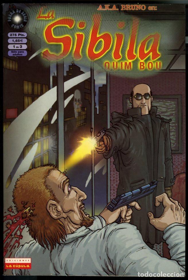 LA SIBILA - QUIM BOU - NUM 1 - EDICIONES LA CUPULA (Tebeos y Comics - La Cúpula - Autores Españoles)
