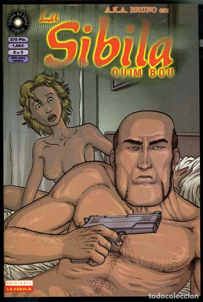 LA SIBILA - QUIM BOU - NUM 2 - EDICIONES LA CUPULA (Tebeos y Comics - La Cúpula - Autores Españoles)