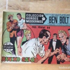 Cómics: BEN BOLT.COLECCION HÉROES MODERNOS.NUMERO 36. Lote 139326978