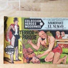 Cómics: MANDRAKE EL MAGO.COLECCION HÉROES MODERNOS.NUMERO 33. Lote 139328350