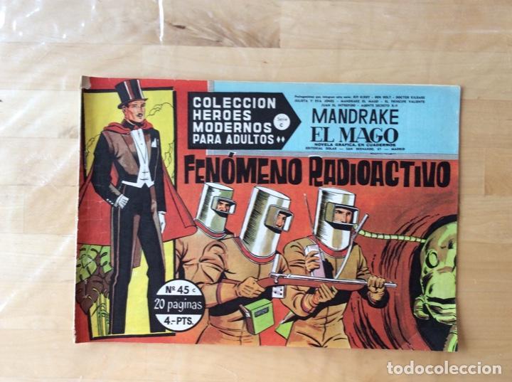 MANDRAKE EL MAGO.COLECCION HÉROES MODERNOS.NUMERO 45 (Tebeos y Comics - La Cúpula - Autores Españoles)