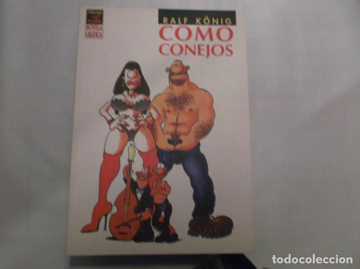 COMO CONEJOS, RALF KONIG,EDICIONES LA CUPULA ,VIBORA COMIX NOVELA GRAFICA, 2003 (Tebeos y Comics - La Cúpula - Autores Españoles)