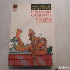Fumetti: CORAZONES CALIENTES,HISTORIAS DE AMOR , RALF KONIG, LA CUPULA ,VIBORA COMIX NOVELA GRAFICA, 2002. Lote 139963486