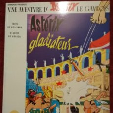 Cómics: ASTERIX EN FRANCÉS. ASTERIX GLADIATEUR. Lote 143049310