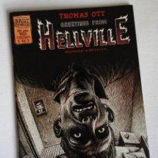 Cómics: HELLVILLE, THOMAS OTT. BRUT COMIX. HISTORIAS COMPLETAS. Lote 143155890