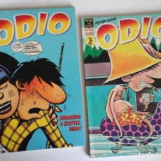 Cómics: ODIO DE PETER BAGGE, 1 Y 2. PRIMERA EDICIÓN DE 1995. NUEVOS, OCASIÓN. Lote 143251802