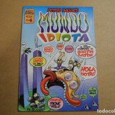 Cómics: MUNDO IDIOTA N. 4 BRUT COMIC. PETER BAGGE'S. . Lote 143643806