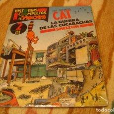 Cómics: FAT FREDDY´S CAT LA GUERRA DE LAS CUCARACHAS GILBERT SHELTON. Lote 278804368