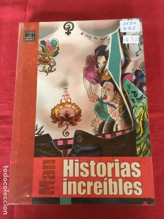 NOVELA GRAFICA EROTICA MAN HISTORIAS INCREIBLES MUY BUEN ESTADO REF.1173 (Tebeos y Comics - La Cúpula - Comic Europeo)