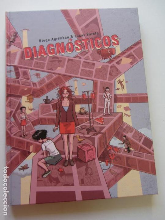 LUCAS VARELA / DIEGO AGRIMBAU DIAGNÓSTICOS LA CUPULA - TAPA DURA - BUEN ESTADO (Tebeos y Comics - La Cúpula - Autores Españoles)
