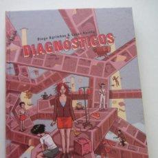 Fumetti: LUCAS VARELA / DIEGO AGRIMBAU DIAGNÓSTICOS LA CUPULA - TAPA DURA - BUEN ESTADO. Lote 145177958