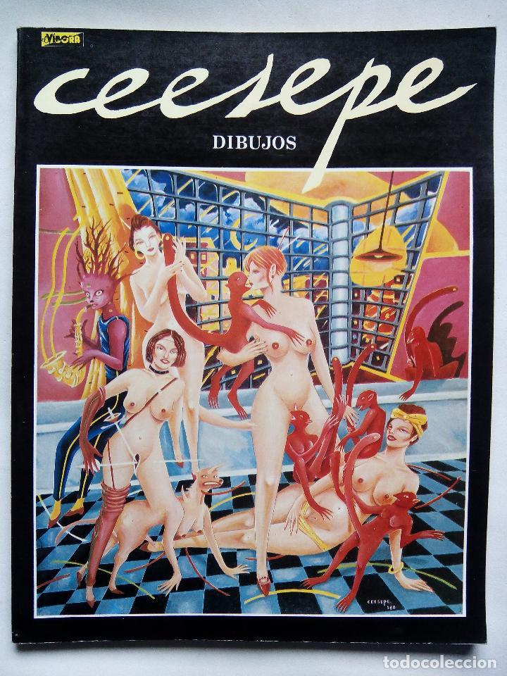 CEESEPE. DIBUJOS. EDICIONES LA CÚPULA. ESPAÑA 1982. EL VÍBORA. (Tebeos y Comics - La Cúpula - Autores Españoles)