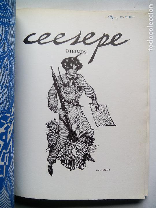 Cómics: CEESEPE. DIBUJOS. EDICIONES LA CÚPULA. ESPAÑA 1982. EL VÍBORA. - Foto 2 - 253333250