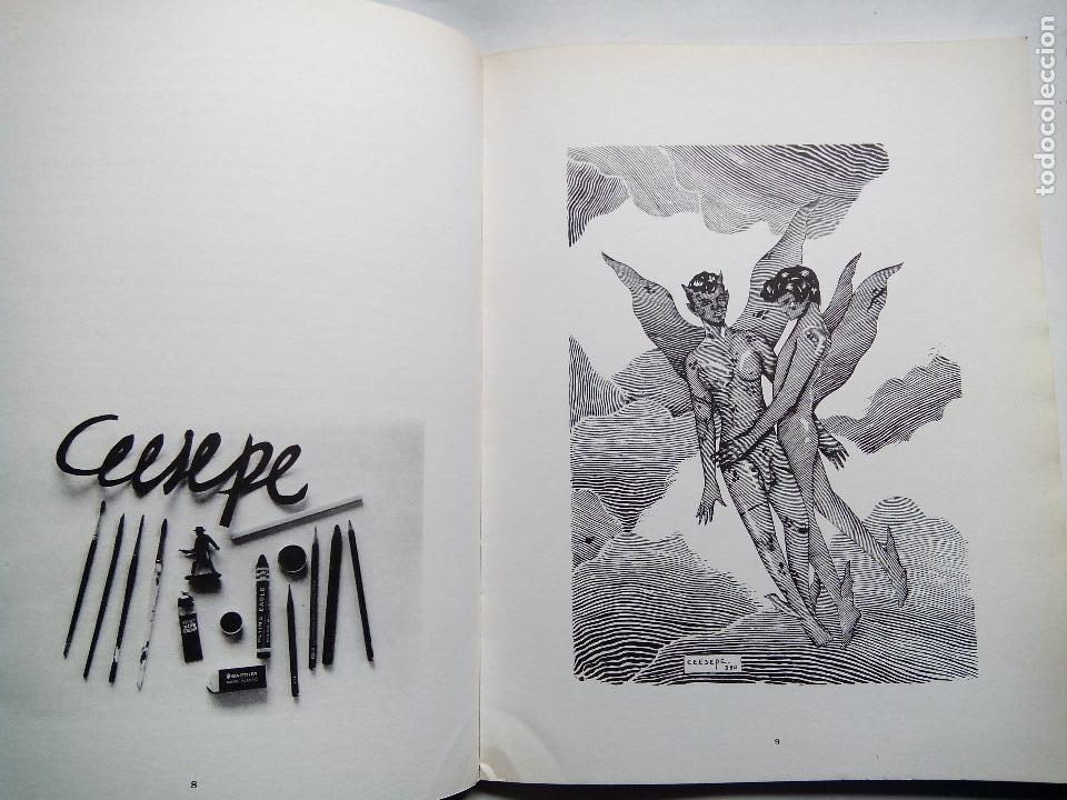 Cómics: CEESEPE. DIBUJOS. EDICIONES LA CÚPULA. ESPAÑA 1982. EL VÍBORA. - Foto 4 - 253333250