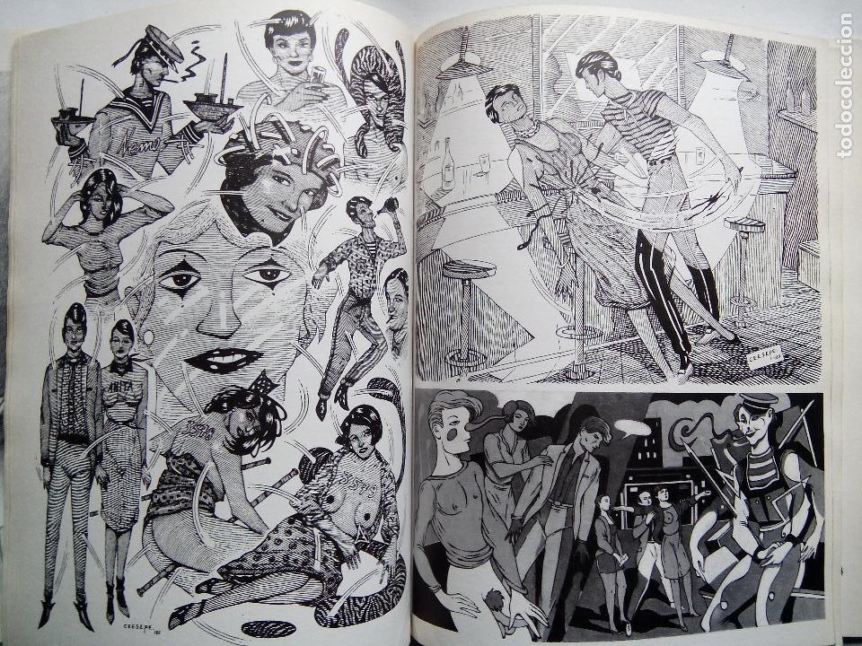 Cómics: CEESEPE. DIBUJOS. EDICIONES LA CÚPULA. ESPAÑA 1982. EL VÍBORA. - Foto 6 - 253333250