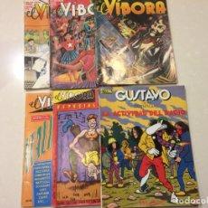 Cómics: 6 EJEMPLARES DE EL VIBORA. Lote 145646838