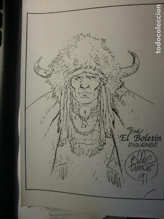 EL BOLETIN CARTULINA DE BLANC DUMONT (Tebeos y Comics - La Cúpula - Autores Españoles)