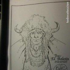 Cómics: EL BOLETIN CARTULINA DE BLANC DUMONT. Lote 145841434