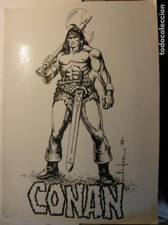 EL BOLETIN CARTULINA DE CONAN DE JODEZ (Tebeos y Comics - La Cúpula - Autores Españoles)