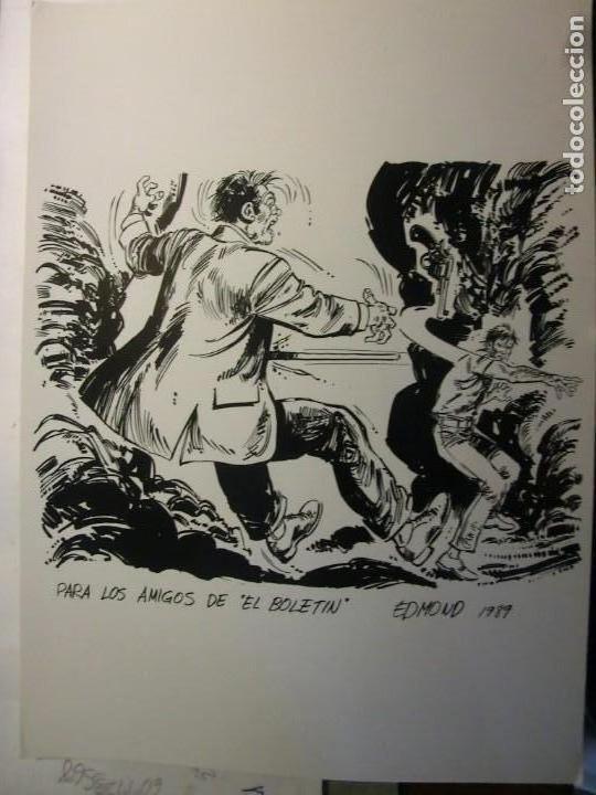 EL BOLETIN CARTULINA DE EDMOND1989 (Tebeos y Comics - La Cúpula - Autores Españoles)