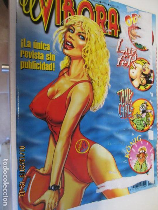 EL VIBORA Nº 196 (Tebeos y Comics - La Cúpula - El Víbora)