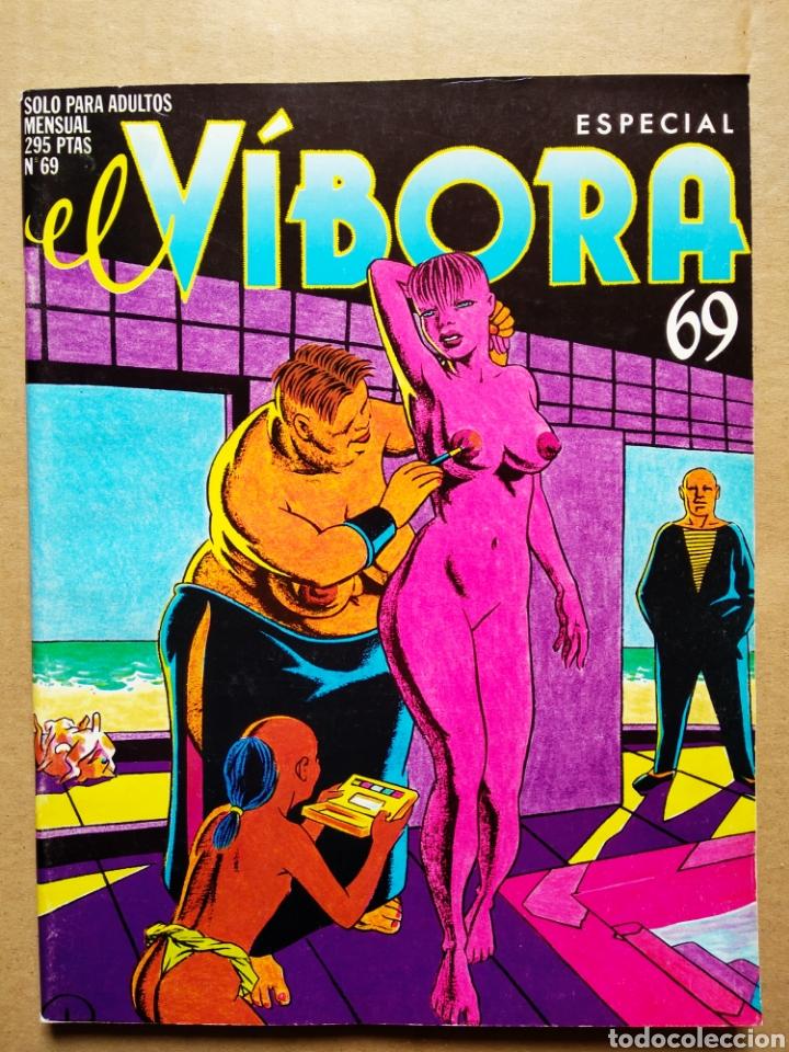 EL VÍBORA ESPECIAL 69 (LA CÚPULA, 1985). 92 PÁGINAS EN COLOR Y B/N. (Tebeos y Comics - La Cúpula - El Víbora)