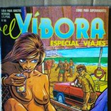 Cómics: REVISTA EL VÍBORA ESPECIAL VIAJES N°46 (LA CÚPULA, 1983). 76 PÁGINAS EN COLOR, B/N Y BITONO. Lote 148447378