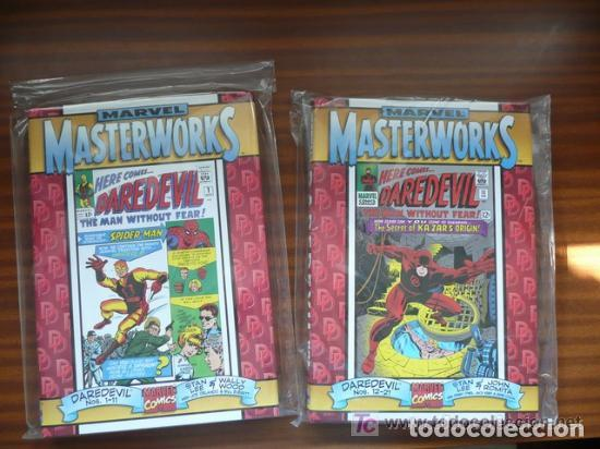 Cómics: MARVEL MASTERWORKS DAREDEVIL 1 Y 2 (EDICIÓN ROJA) DOS TOMOS - Foto 5 - 199814683