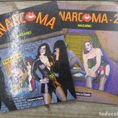 Cómics: ANARCOMA Y ANARCOMA 2 - 1ª EDICIONES -TAPA DURA Y RUSTICA NAZARIO - LA CUPULA . Lote 155730032