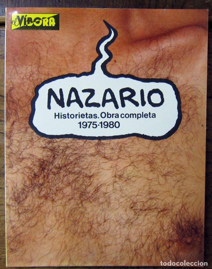 NAZARIO - HISTORIETAS. OBRA COMPLETA 1975-1980 - 1981 (Tebeos y Comics - La Cúpula - Autores Españoles)