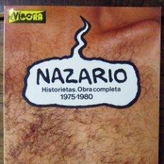 Cómics - NAZARIO - HISTORIETAS. OBRA COMPLETA 1975-1980 - 1981 - 149999590