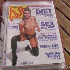 Cómics: KISS COMIX Nº 64. MAGAZINE ERÓTICO MENSUAL. LA CÚPULA SL. IMPECABLE.. Lote 150813902