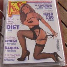 Cómics: KISS COMIX Nº 65. MAGAZINE ERÓTICO MENSUAL. LA CÚPULA SL. IMPECABLE.. Lote 150814158