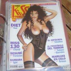 Cómics: KISS COMIX Nº 66. MAGAZINE ERÓTICO MENSUAL. LA CÚPULA SL. IMPECABLE.. Lote 150814386