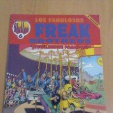 Cómics: LOS FABULOSOS FREAK BROTHERS TOTALMENTE PASADOS. Lote 151624270