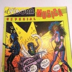 Cómics: EL VIBORA - ESPECIAL MUSICA. Lote 151644826