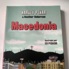 Cómics: MACEDONIA HARVEY PEKAR.. Lote 151747554