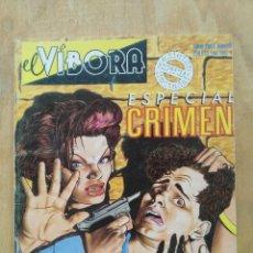 Cómics: EL VÍBORA, ESPECIAL CRIMEN - ED. LA CÚPULA. Lote 152142714