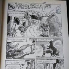 Cómics: VENGANZA. MORENO/ONLIYU. LA CUPULA 1991. Lote 152279114