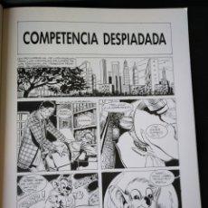 Cómics: JUEGOS FINANCIEROS. GRAMACCIONI. LA CÚPULA 1991. Lote 152281172