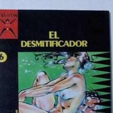 Cómics: EL DESMITIFICADOR, TOMI. COLECCIÓN X Nº 6. Lote 152403062