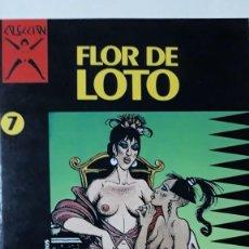 Cómics: FLOR DE LOTO, COLECCION X Nº 7, PICHARD. Lote 152403670