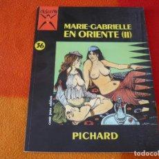 Cómics: MARIE-GABRIELLE EN ORIENTE VOL II ( PICHARD ) ¡BUEN ESTADO! COLECCION X 36 LA CUPULA. Lote 153173706