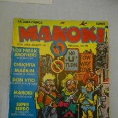 Cómics: MAKOKI Nº 4. PRIMERA EPOCA. LA CUPULA. 1983. Lote 154592494