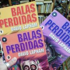 Cómics: LOTE 3 BALAS PERDIDAS. 1,2,3.. Lote 154782250