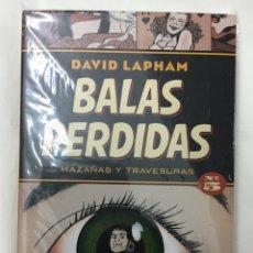 Cómics: BALAS PERDIDAS 5. HAZAÑAS Y TRAVESURAS - DAVID LAPHAM - LA CÚPULA. Lote 155227581