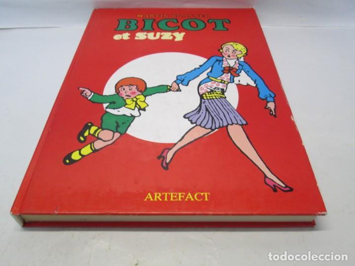 Cómics: BICOT ET SUZY. MARTIN BRANNER. EDITORIAL ARTEFACT. 1986. VER FOTOGRAFIAS ADJUNTAS - Foto 3 - 155575082