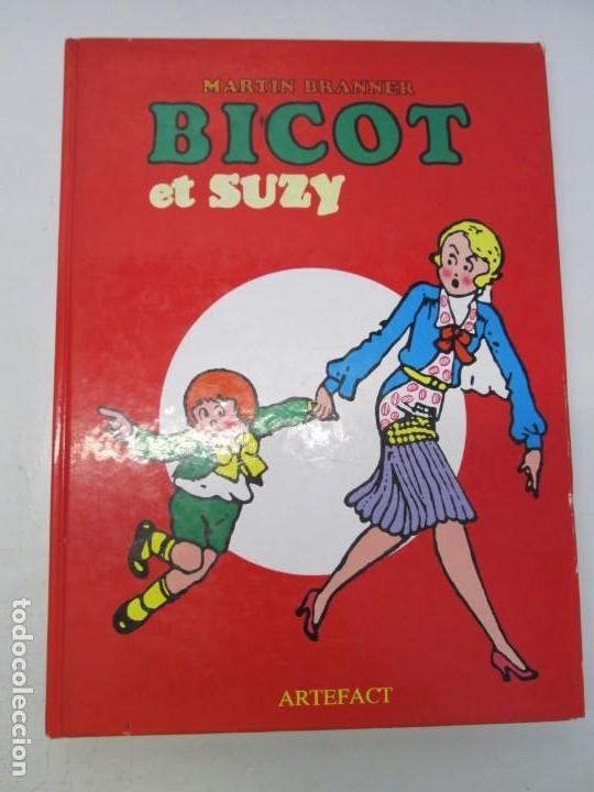 Cómics: BICOT ET SUZY. MARTIN BRANNER. EDITORIAL ARTEFACT. 1986. VER FOTOGRAFIAS ADJUNTAS - Foto 6 - 155575082