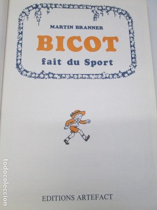 Cómics: BICOT ET SUZY. MARTIN BRANNER. EDITORIAL ARTEFACT. 1986. VER FOTOGRAFIAS ADJUNTAS - Foto 7 - 155575082