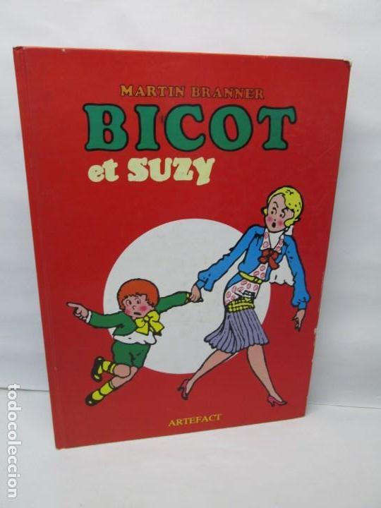 BICOT ET SUZY. MARTIN BRANNER. EDITORIAL ARTEFACT. 1986. VER FOTOGRAFIAS ADJUNTAS (Tebeos y Comics - La Cúpula - Comic Europeo)